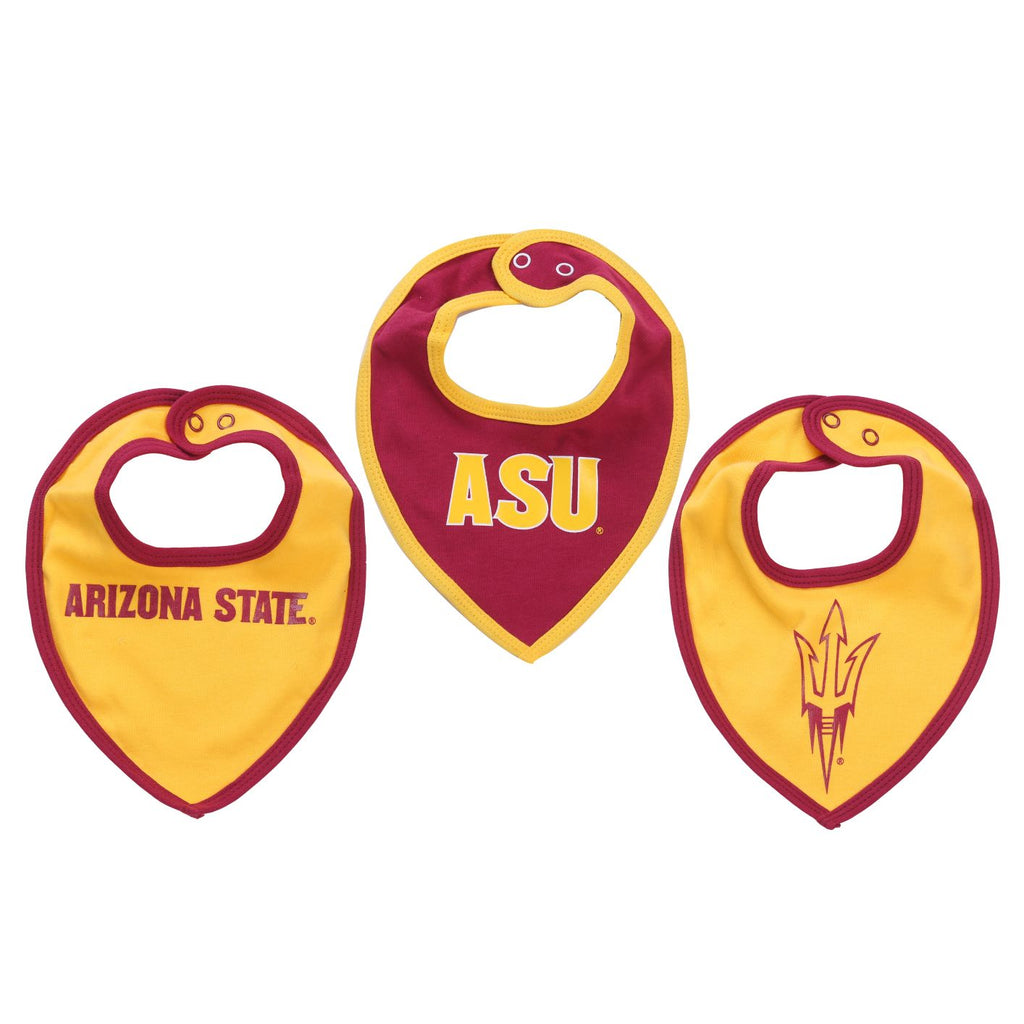 NCAA Arizona State Sun Devils Bib baby Boy and Girl