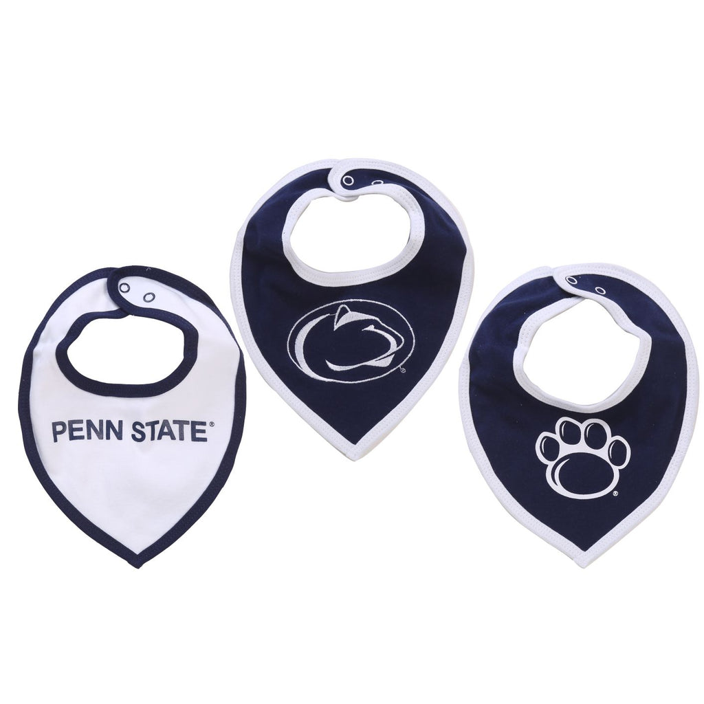 NCAA Penn State Nittany Lions Baby Boy and Girl Bib