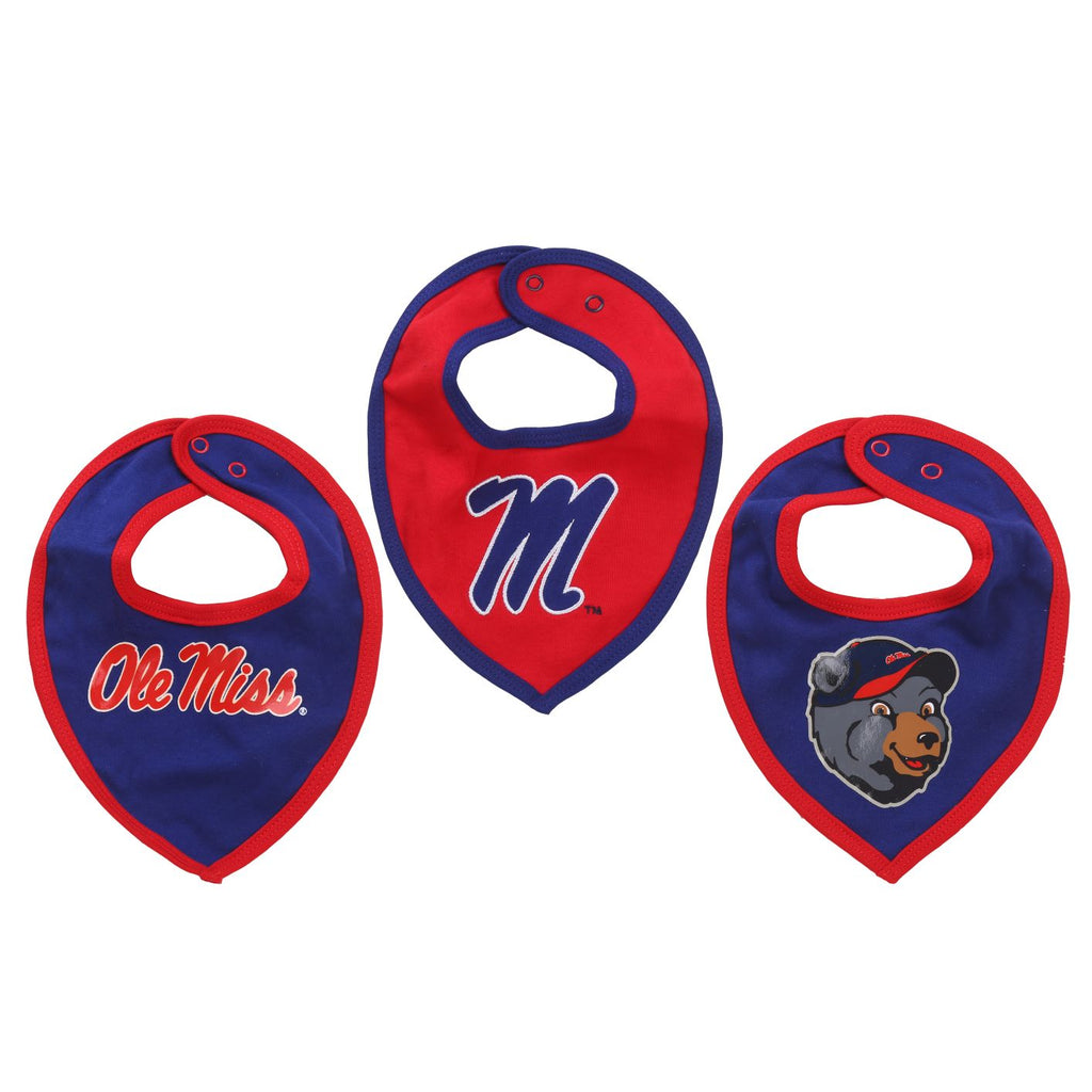 NCAA Ole Miss Rebels Baby Boy and Girl Bib
