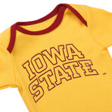 NCAA Iowa State Cyclones 2 pcs Baby Bodysuits