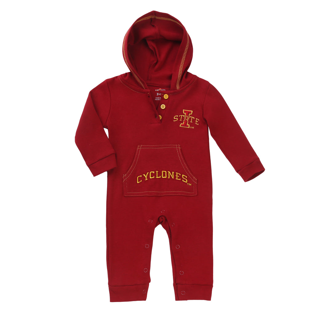 Iowa State Cyclones Baby and Toddler Hooded Romper