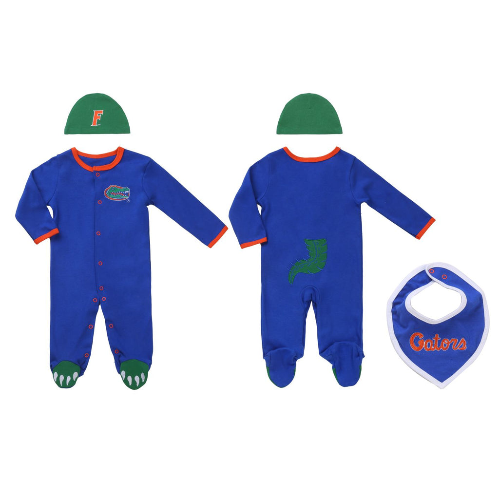 "University of Florida Boys ""Three-Piece"" Sleeper Set"