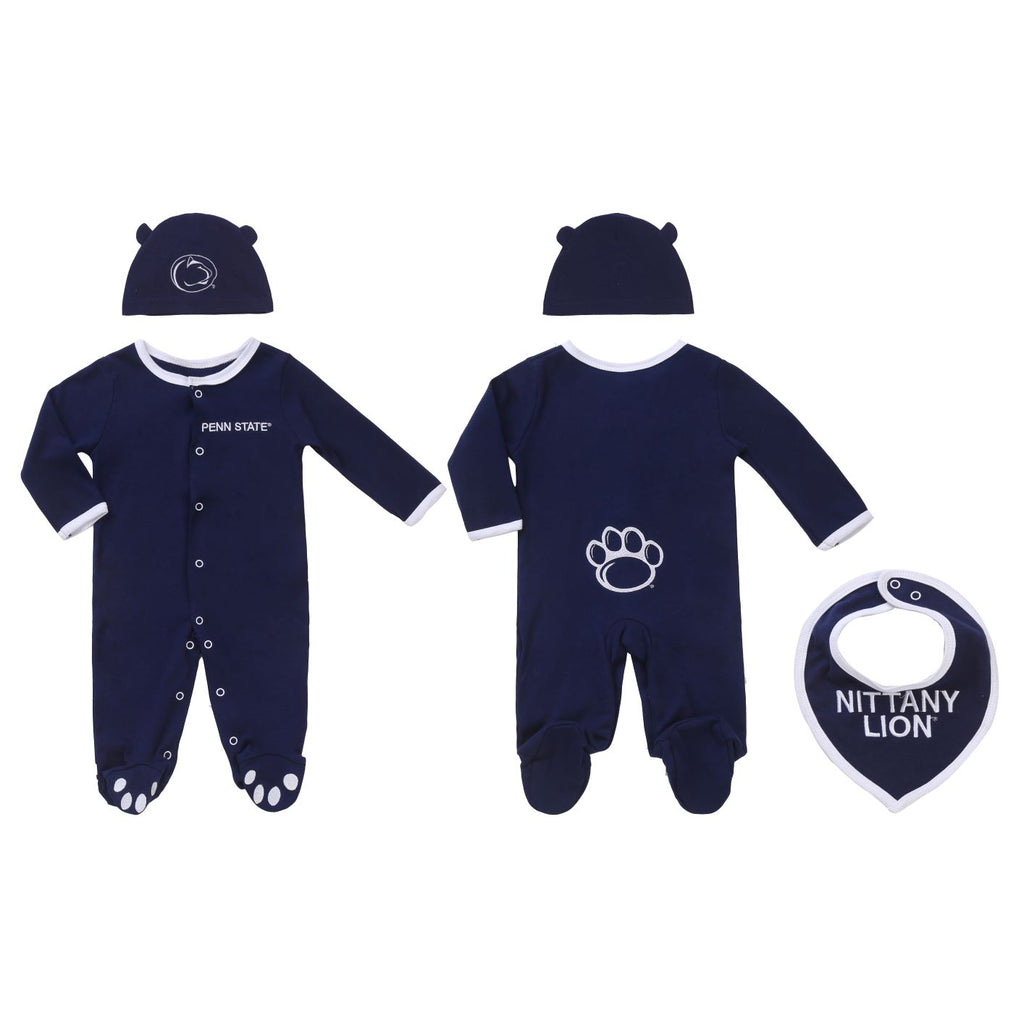"Penn State Boys ""Three-Piece"" Sleeper Set"