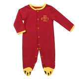 Iowa Cyclones Baby (3 pc) Footie, Bib and Had Set