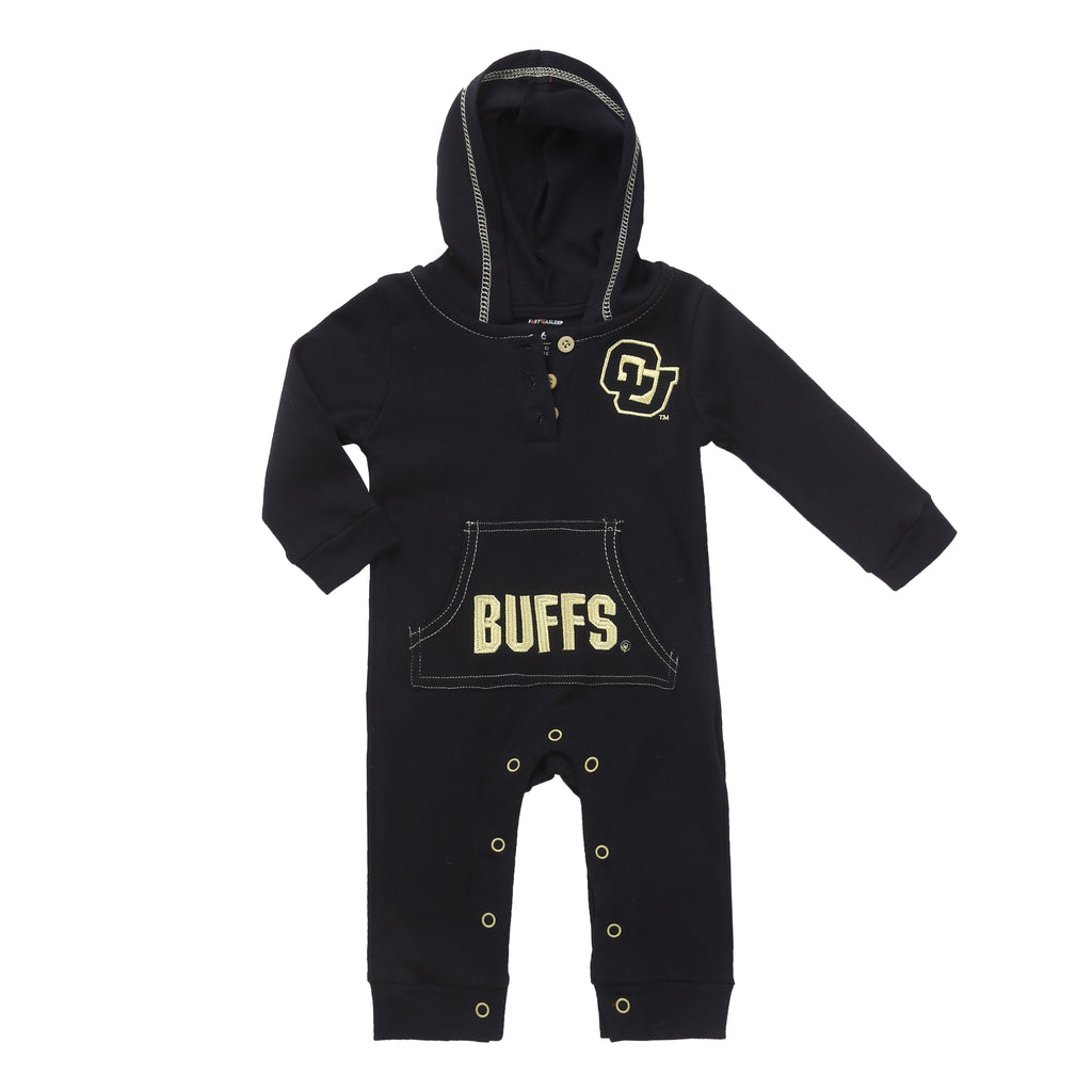 Colorado Buffaloes Baby and Toddler Hooded Romper