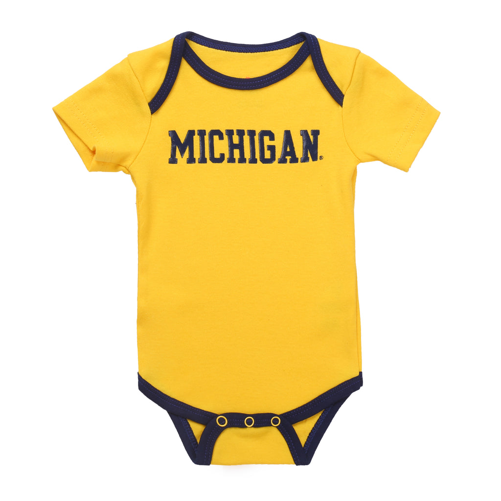 NCAA Michigan Wolverines 2 pcs Baby Bodysuits