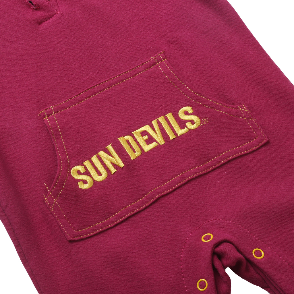 Arizona State Sun Devils Baby and Toddler Hooded Romper
