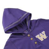 Washington Huskies Baby and Toddler Hooded Romper