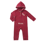 Florida Seminoles Baby and Toddler Hooded Romper