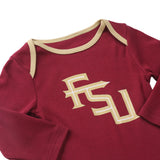 NCAA Florida Seminoles FSU 2 pcs Baby Bodysuits