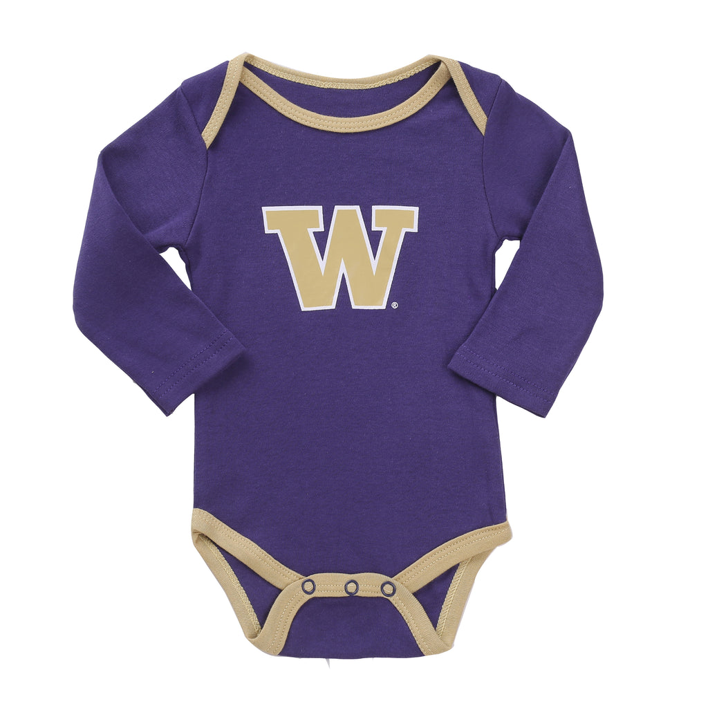 NCAA Washington Huskies 2 pcs Baby Bodysuits