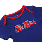 NCAA Ole Miss Rebels 2 pcs Baby Bodysuits