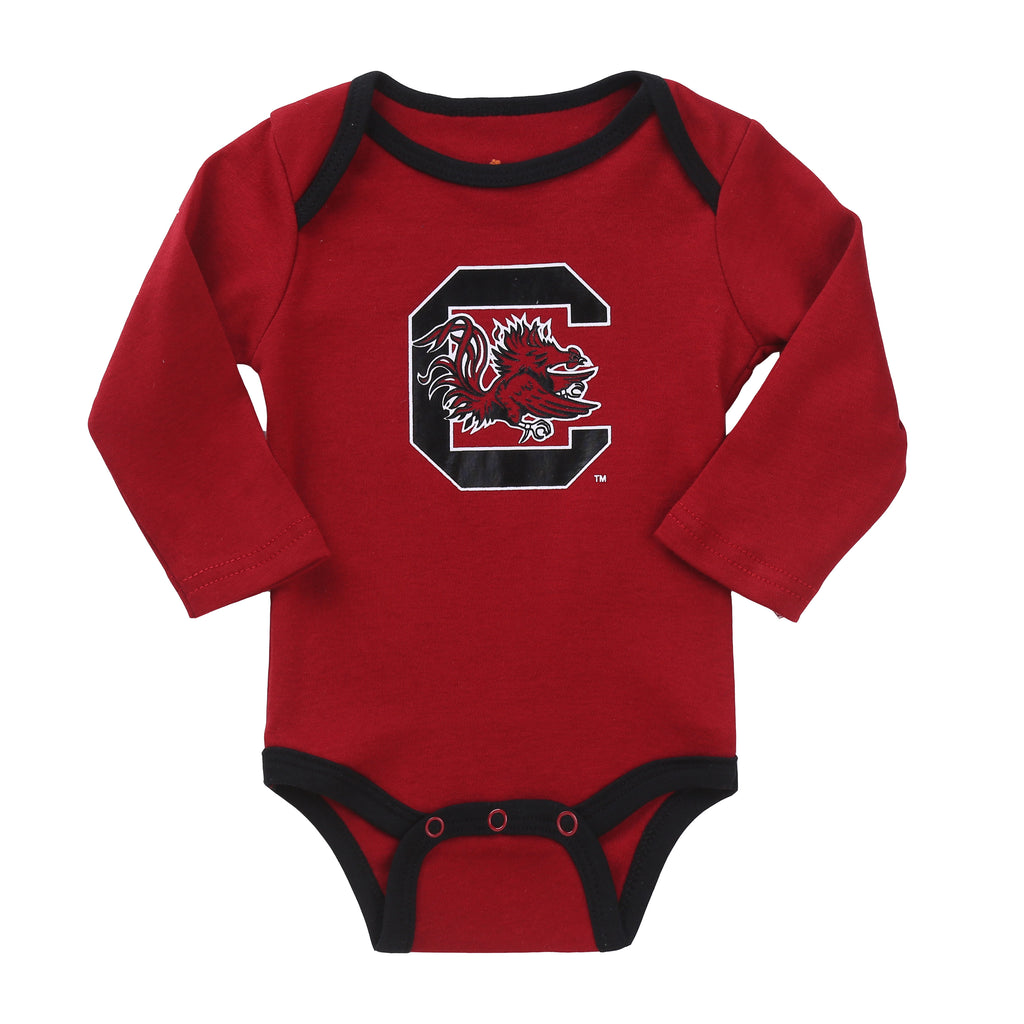 NCAA South Carolina Gamecocks 2 pcs Baby Bodysuits