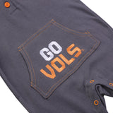 NCAA Tennessee Volunteers Baby and Toddler Hooded Romper