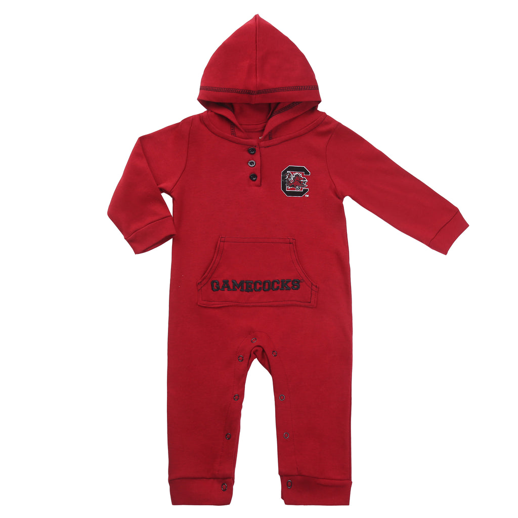 South Carolina Gamecock Baby and Toddler Hooded Romper