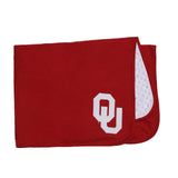 NCAA  University of Oklahoma baby Boy and Girl Blanket