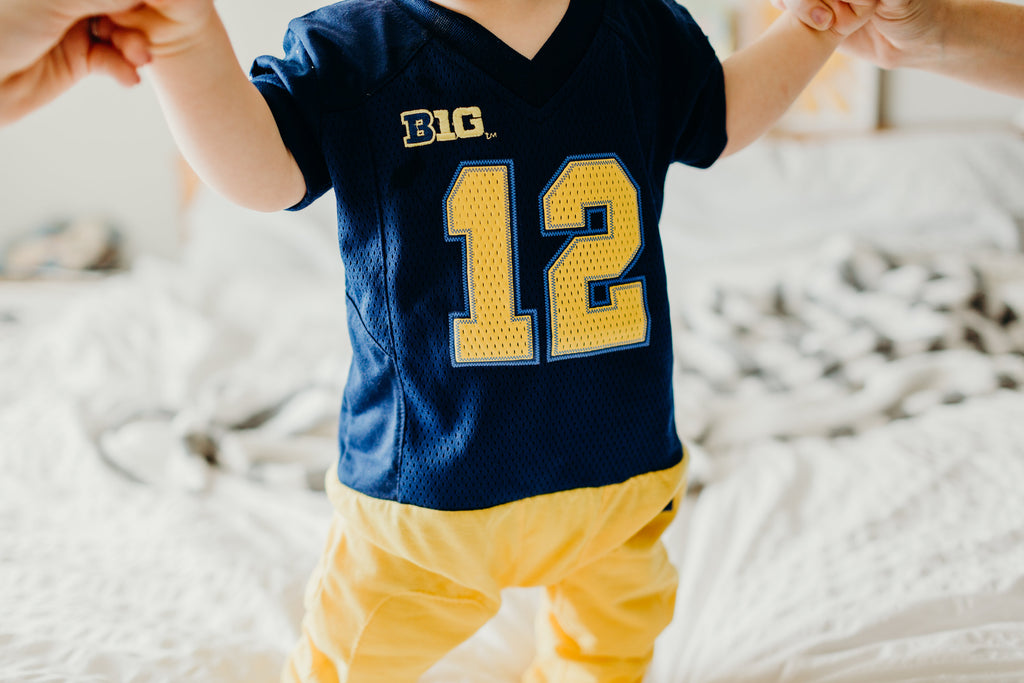 "University of Michigan ""Onesie"" - Fast Asleep PJ's"