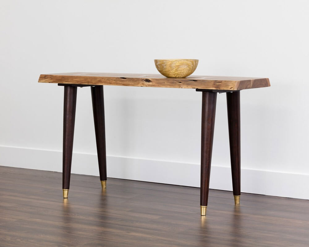 Atlas Console Table Live Edge