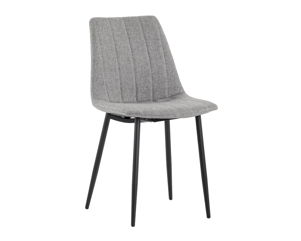 Drew Dining Chair - LIGHT GREY