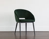 Nawada dining chair - Deep green