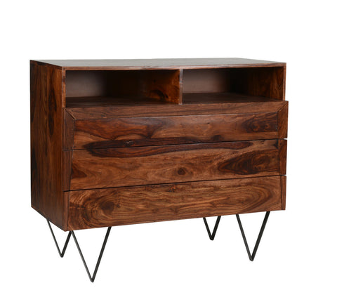 Noir Havana 5 Drawer Chest