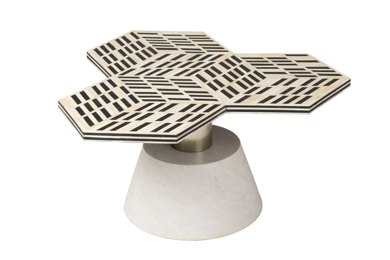 5TH AVENUE ART DECO COFFEE TABLE