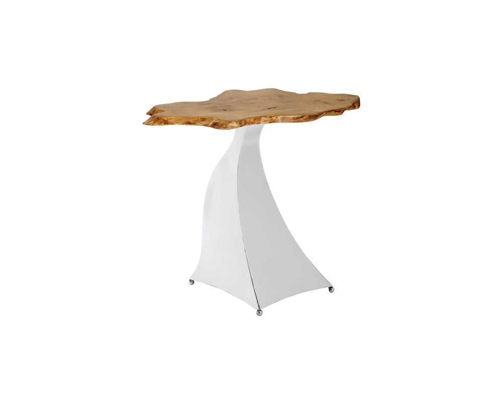Lotus End Table