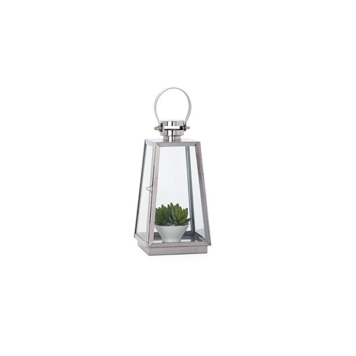 Portico Stainless Steel Tapered Lantern
