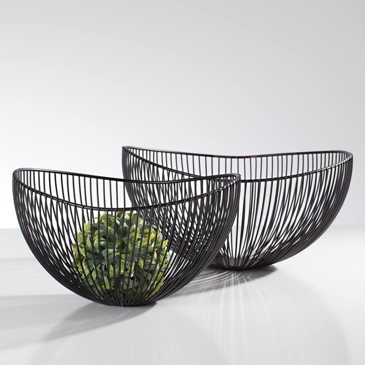 Pod Wire Bowls - Set of Two