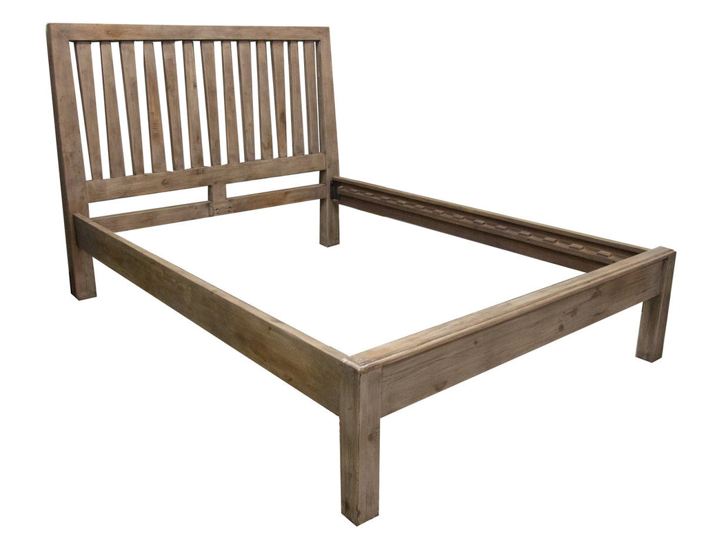 Post & Rail Platform Bed
