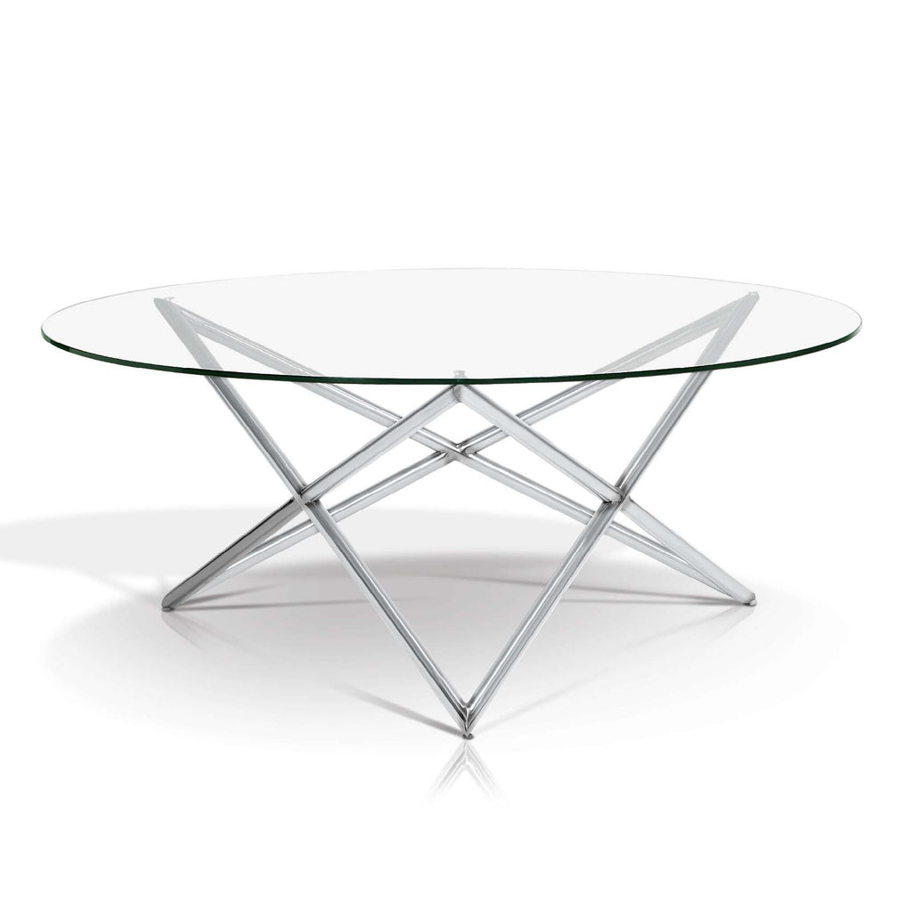 Faye Round Modern Coffee Table