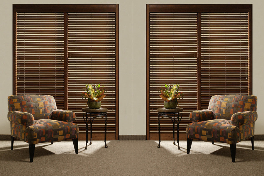 Lucerne  Distressed  Wood Blinds