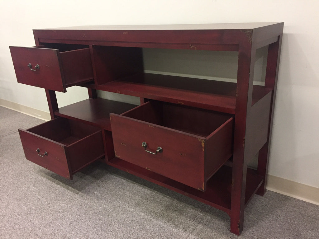 3 Drawer Console Table