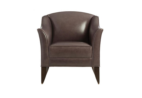BOW ARMCHAIR - DEEP GREEN