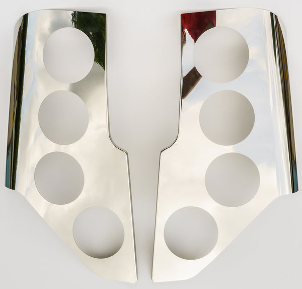 Tail Light Cover Set For Prevost X3 Polished Ibp S Hot