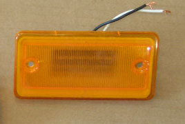 Roof Clearance Light - Amber  -  LED 12Volt