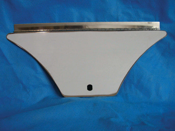 FENDER TRIM - HINGED, POLISHED STAINLESS - PREVOST XL  -  460298PS