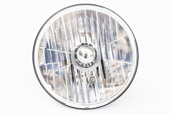"7"" Round Headlamp - (HB2 - 60/55W/12V)   -   NS-2210S"