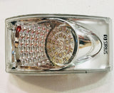 LED Taillight - Curved Banana Light, Clear    NS-2606S