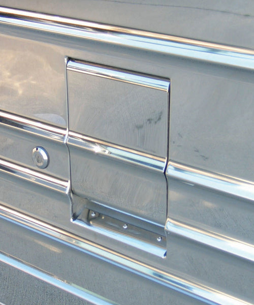 M3-01279 X3 Handle Cover, X-3 Baggage Door Ribbed
