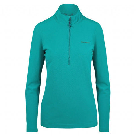 ENTRADA 1/2 ZIP SOFTSHELL JACKET W