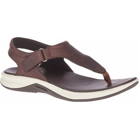 Tideriser Luna T Strap Leather Women's