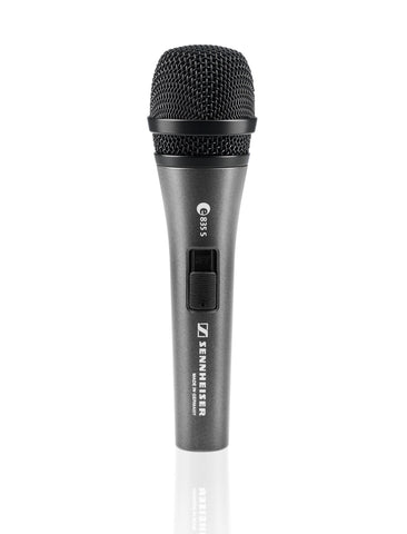Sennheiser e 835-S Dynamic Cardioid Stage Microphone with Switch