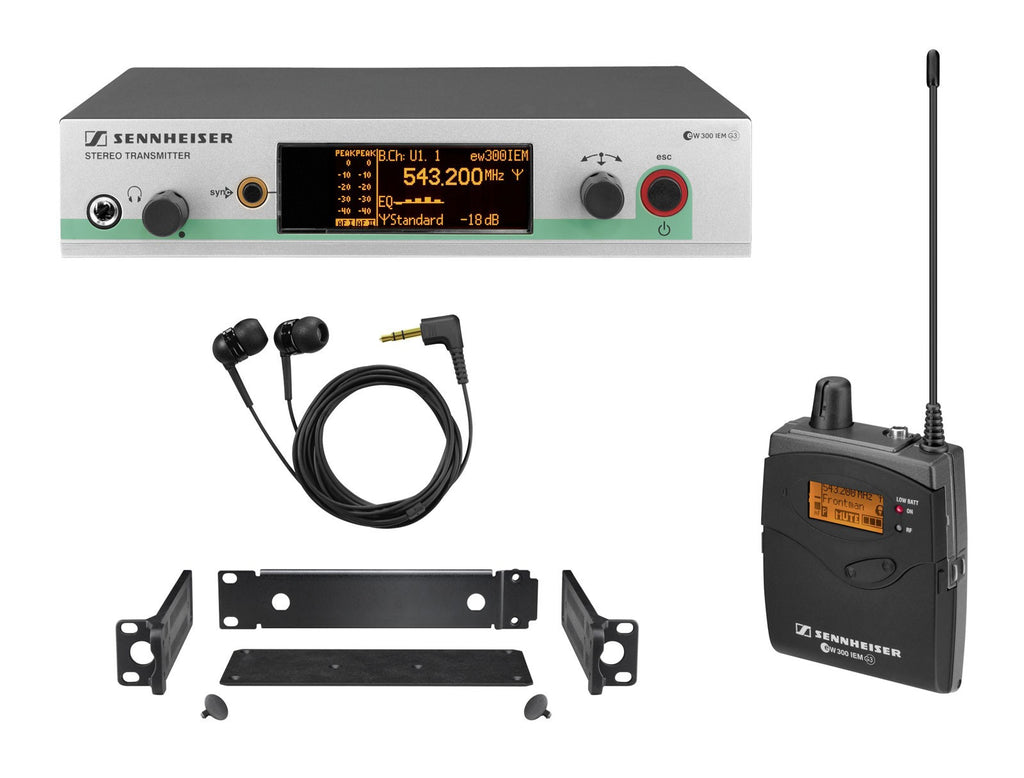 Sennheiser ew 300 IEM G3 Wireless In-Ear Monitor System Band G