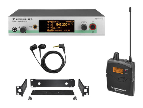 Sennheiser ew 300 IEM G3 Wireless In-Ear Monitor System Band A