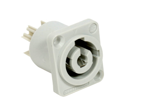 Seetronic SAC3MPB Power Connector Gray Panel Mount -