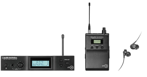 Audio Technica ATW-3110BD Wireless System (655.500-680.375 MHz)