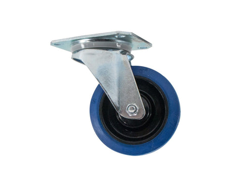 "OSP ATA-BLUE-4 Premium 4"" Rubber Caster for ATA Cases and Racks"