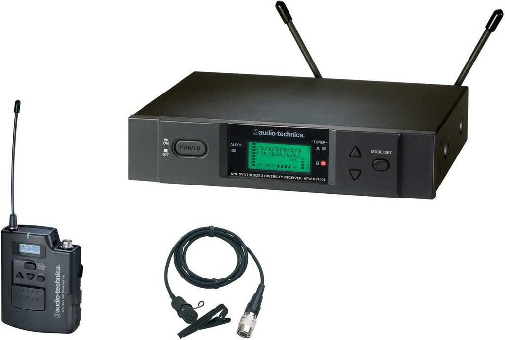 Audio Technica ATW-3131BI Wireless Lavalier Mic System (482.000-507.000 MHz)