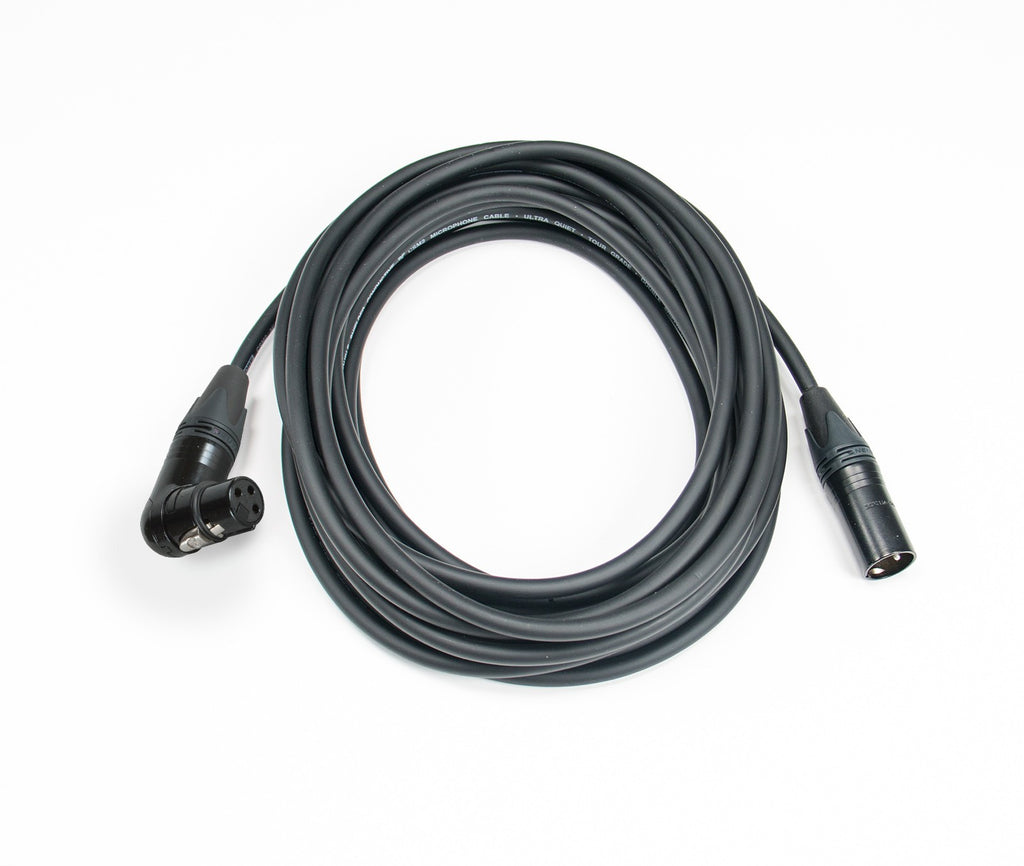 Elite Core CSM2-RAFN Stage Grade Ultra Quiet and Ultra Durable Mic Cable - 2'
